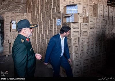 تهران  بازداشت ۶۰ محتکر و کشف ۷۳ میلیون قلم انواع لوازم بهداشتی احتکارشده