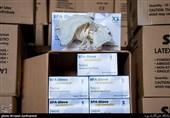 400 هزار جفت دستکش بهداشتی در قزوین کشف شد