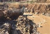 خسارت وقوع سیل در شهرستان چابهار به روایت تصویر