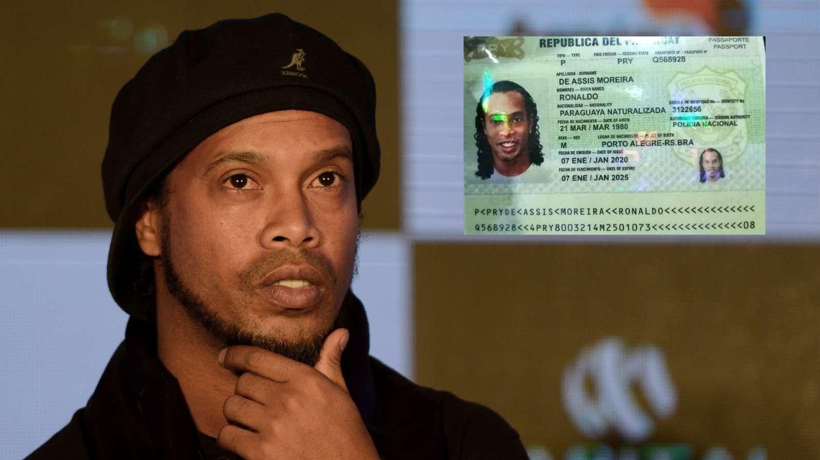 1398121511011857198504210 - دستگیری رونالدینیو به جرم استفاده از گذرنامه جعلی! + عکس
