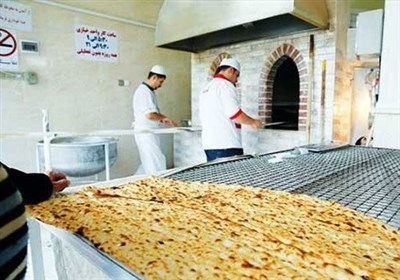 رعایت بهداشت نان توسط مشتریان