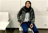 کاپیتان تیم ملی کاراته بانوان جراحی شد