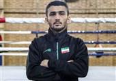 بوکس گزینشی المپیک| برتری بوکسور جوان ایران مقابل حریف کرهای