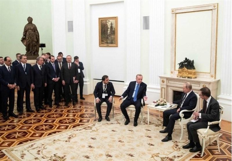 پوتین و اردوغان: به توافق درباره آتشبس در ادلب دست یافتیم