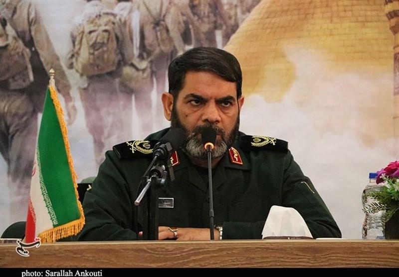 فرمانده سپاه کرمان: برای خدمت به مردم از کسی اجازه نمیگیریم / همه امکانات را برای مقابله با کرونا به میدان آوردیم
