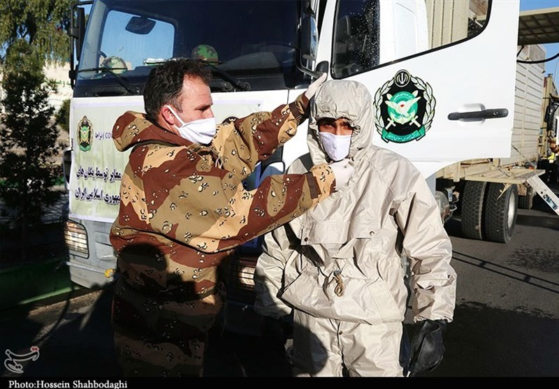 General Outlines Iranian Armed Forces' Help in Coronavirus Fight