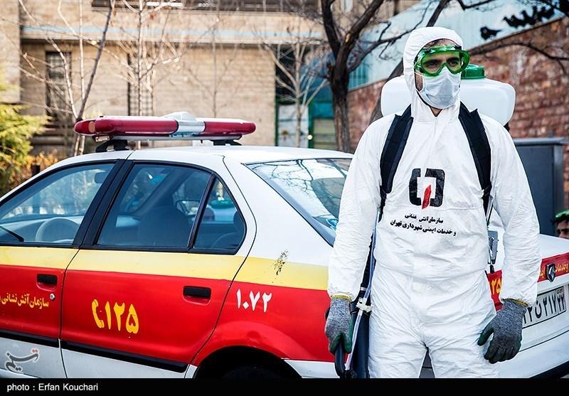 واکسن کرونا به آتشنشانان تهرانی رسید