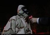 اقدامات عملیاتی قرارگاه پدافند زیستی سپاه مازندران در مهار کرونا / ضدعفونی شهرها و روستاها توسط بسیجیان