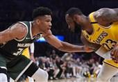 لیگ NBA  جدال غولها به سود یاران جیمز به پایان رسید