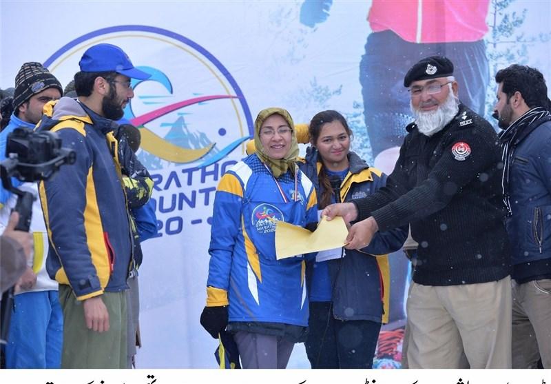 پاکستان؛ سیاحتی علاقے سوات میں سنو میراتھن، ملکی و غیر ملکی کھلاڑیوں کی شرکت + تصاویر