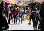 کرونای انگلیسی در هیاهوی بازارهای شلوغ کرمان جولان میدهد