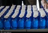 تولید محلول ضدعفونی بدون الکل در قزوین/ توزیع 2500 بسته اقلام بهداشتی بین نیازمندان