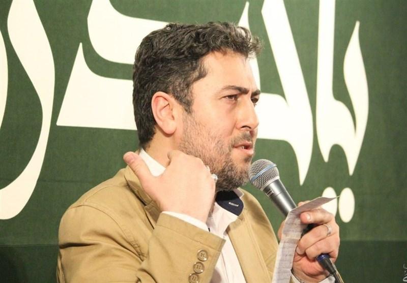 شعرخوانی احمد بابایی در مدح حضرت علی(ع)+فیلم