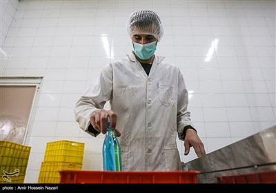 تولید مواد ضد عفونی دست و پوست در قزوین
