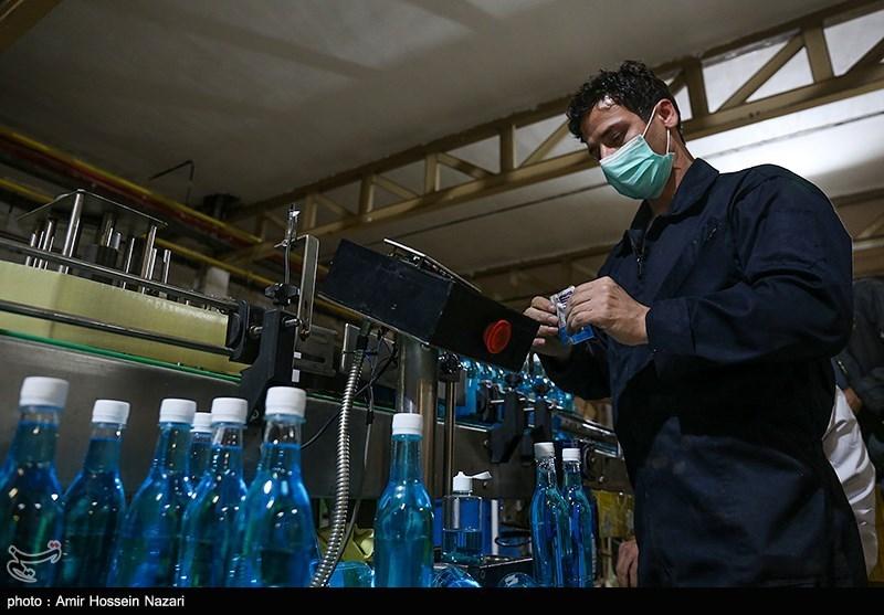 تولید مواد ضدعفونی کننده در کشور با شیوع کرونا 8 برابر شد