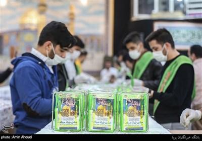 بسته بندی و توزیع شش هزار مواد ضدعفونی کننده در دولت آباد تهران