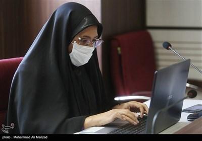 نشست خبری نماینده سازمان بهداشت جهانی - قم