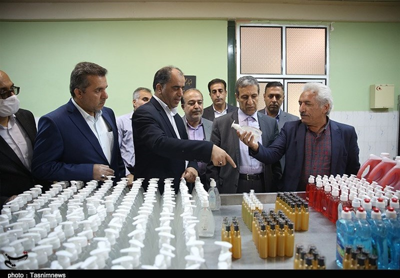 عرضه محلولهای ضدعفونی و ماسک در استان بوشهر بهبود یافته است