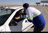 مسافران در مبادی ورودی استان چهارمحال و بختیاری غربالگری و تبسنجی میشوند