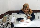 کردستان|خانواده کارکنان هنگ مرزی بانه برای مقابله با ویروس کرونا پای کار آمدند