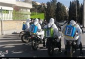 اصفهان  سالمسازی مرکز توانبخشی سالمندان به همت جبهه مردمی سلامت + فیلم