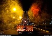 رونمایی از سیستم مهپاش جدید آتشنشانی برای ضدعفونی کردن معابر + فیلم