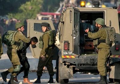 حمله نظامیان صهیونیست به فلسطینیان خشمگین از سفر پامپئو به شهرکهای کرانه باختری