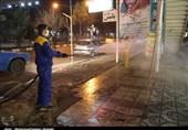 گندزدایی و ضدعفونی بیش از 4 میلیون مترمربع در روز توسط شهرداری قم