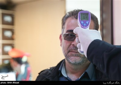 پیشگیری از شیوع کرونا در مقرهای نیروی انتظامی