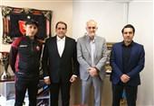 جلسه سرپرست جدید باشگاه پرسپولیس با مدیر و سرمربی تیم