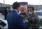 با ورود نیروهای مسلح به حوزه مقابله با کرونا وضعیت بهبود یافته است؛ ممانعت از ورود خودروهای غیربومی به استان مرکزی