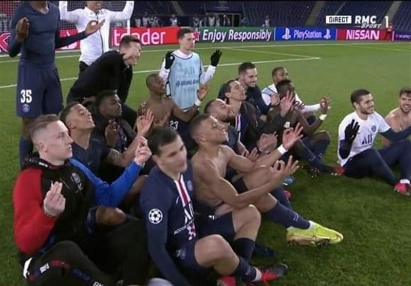 نیمار , کیلیان امباپه , تیم فوتبال پاریسنژرمن , لیگ قهرمانان اروپا , تیم فوتبال دورتموند آلمان ,