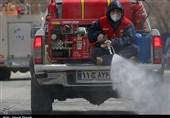 تلاش آتشنشانان سنندجی برای مهار آتش ؛ انجام 1351 عملیات اطفاء حریق و امداد و ضدعفونی سطح شهر با تجهیزات نوین
