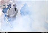 """تجهیزات نوین آتشنشانی تهران برای ضدعفونی کردن معابر/ از """"مهپاش"""" 4 تنی تا """"فوگر حرارتی"""" + تصاویر"""