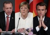 اردوغان، ماکرون و مرکل از طریق ویدئوکنفرانس گفتوگو میکنند
