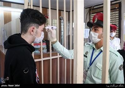 ضد عفونی مقر های انتظامی تهران بزرگ