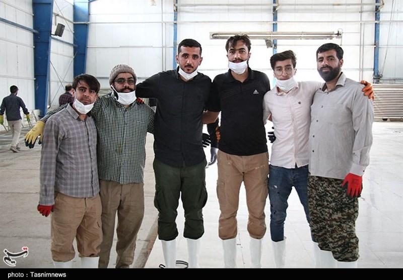 روایتی از خط مقدم مبارزه با کرونا؛ نوروزی متفاوت برای گروههای جهادی در خراسان شمالی + فیلم