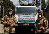 Iranian Army Enhancing Anti-Coronavirus Activities in Nationwide Drill