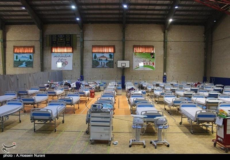 بیمارستان صحرایی 100 تختخوابی در اردبیل راهاندازی شد