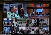 گردهمایی (ویدئو کنفرانس) فرماندهی انتظامی تهران بزرگ