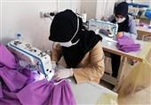 دانشجویان دانشگاه بقیةالله (عج) قزوین اقدام به راهاندازی کارگاههای تولید ماسک کردند + فیلم