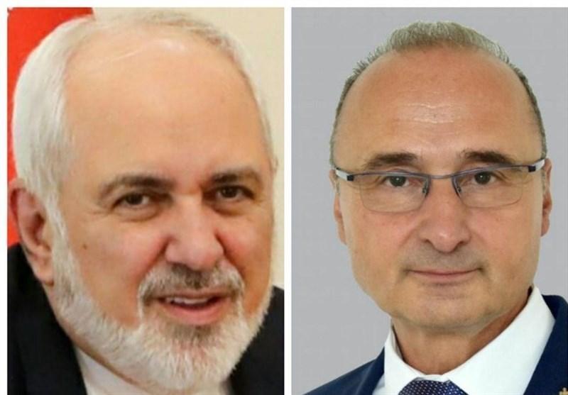 Zarif Urges Boost to Iran-Croatia Ties