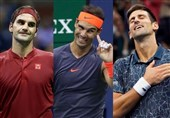 نقش بزرگ فدرر، نادال و جوکوویچ در لغو تورنمنتهای تنیس