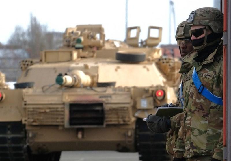 ورود یک کاروان لجستیکی ارتش آمریکا به حومه الحسکه