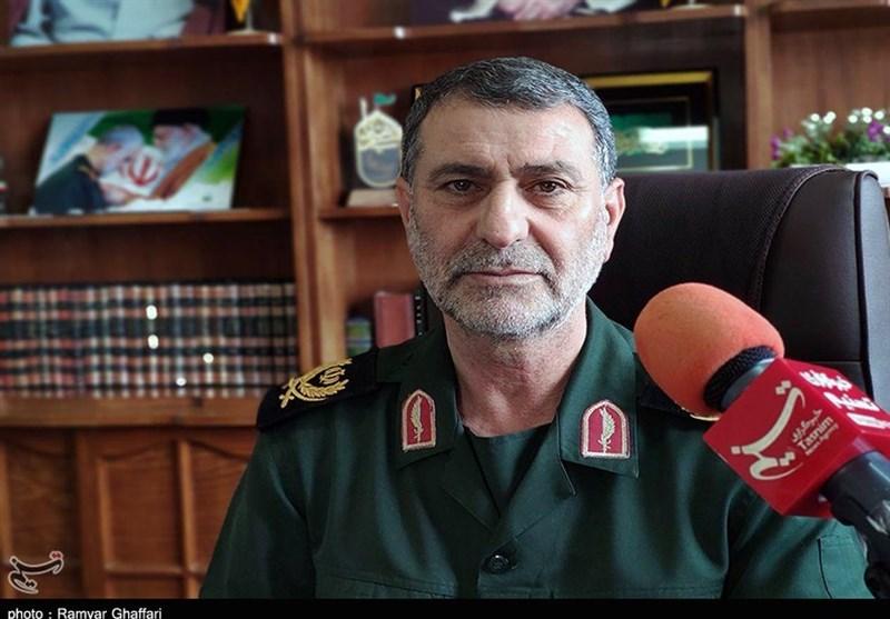 فرمانده سپاه استان کردستان در گفتوگو با تسنیم: تمام امکانات لجستیکی و درمانی سپاه برای ریشهکنسازی «کرونا» در خدمت مردم است + فیلم