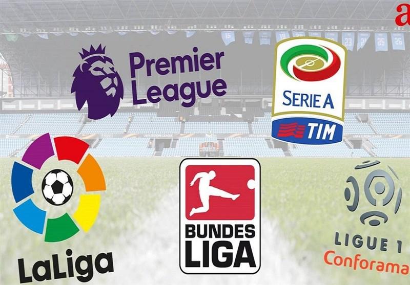 احتمال 18 تیمی شده 4 لیگ برتر فوتبال اروپا