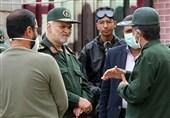 تمام ظرفیتهای سپاه استان فارس برای مقابله با کرونا بهکار گرفته شد