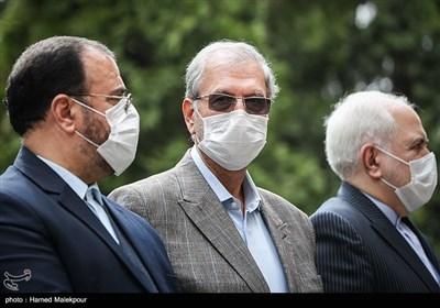 علی ربیعی سخنگوی دولت در حاشیه آخرین جلسه هیئت دولت در سال ۹۸