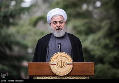 سخنرانی حجتالاسلام حسن روحانی رئیس جمهور در حاشیه آخرین جلسه هیئت دولت در سال ۹۸