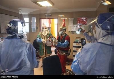 کاروان نوروزی در بیمارستان بهارلو